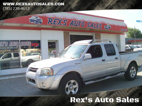2003 Nissan Frontier for sale at Rex's Auto Sales in Junction City KS