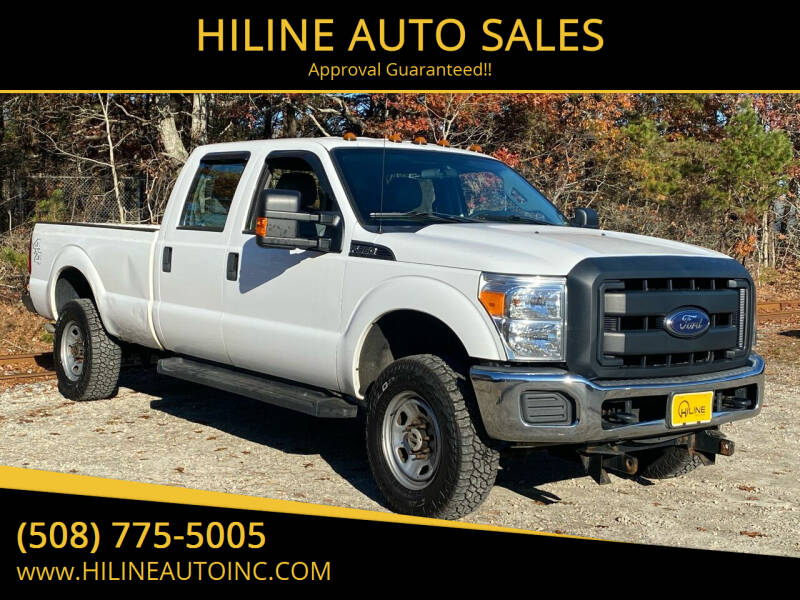 2014 Ford F-350 Super Duty for sale at HILINE AUTO SALES in Hyannis MA