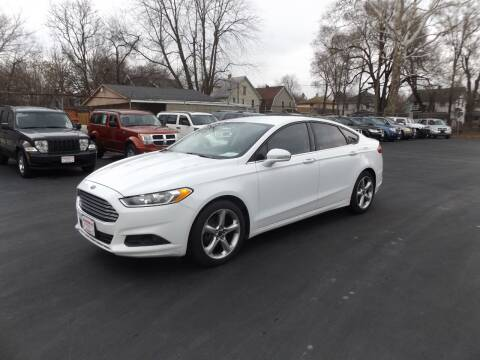 2013 Ford Fusion for sale at Goodman Auto Sales in Lima OH