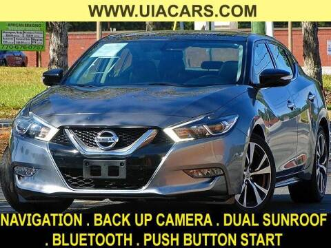 2016 Nissan Maxima for sale at Used Imports Auto - Lawrenceville in Lawrenceville GA