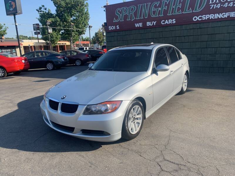 2007 BMW 3 Series for sale at SPRINGFIELD BROTHERS LLC in Fullerton CA