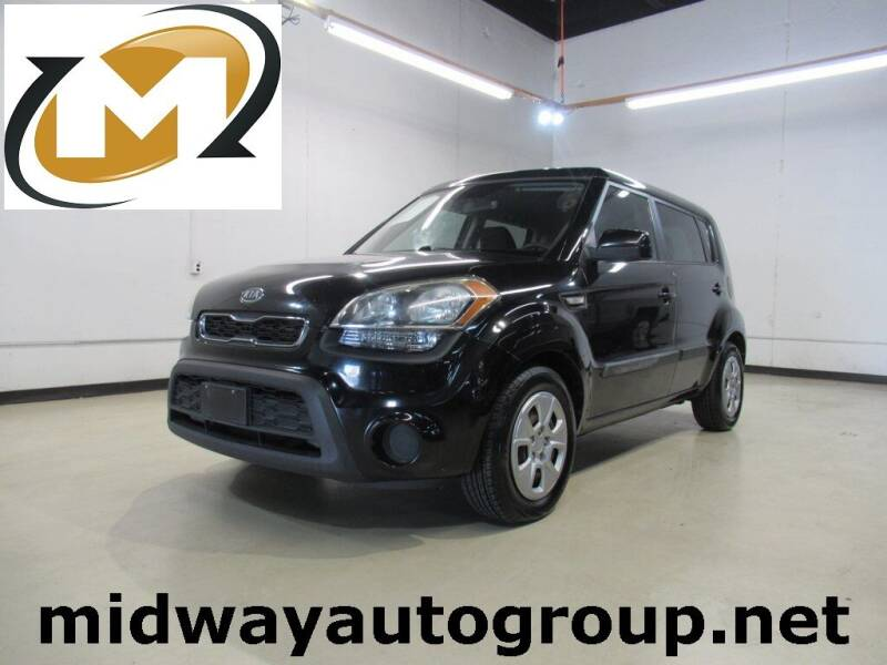 2012 Kia Soul for sale at Midway Auto Group in Addison TX