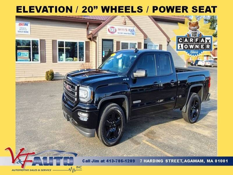 2017 GMC Sierra 1500 for sale at V & F Auto Sales in Agawam MA