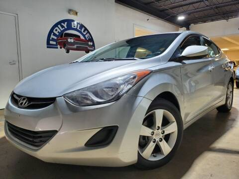 2013 Hyundai Elantra for sale at Italy Blue Auto Sales llc in Miami FL