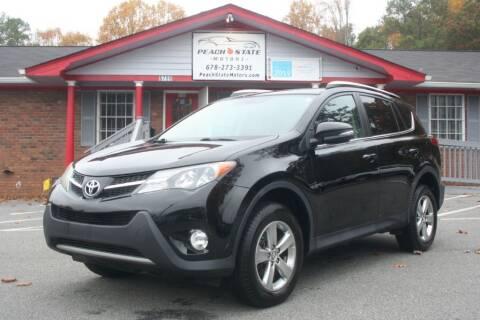 2015 Toyota RAV4 for sale at Peach State Motors Inc in Acworth GA