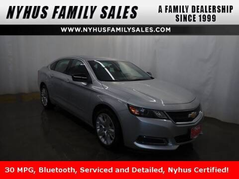 2017 Chevrolet Impala for sale at Nyhus Family Sales in Perham MN
