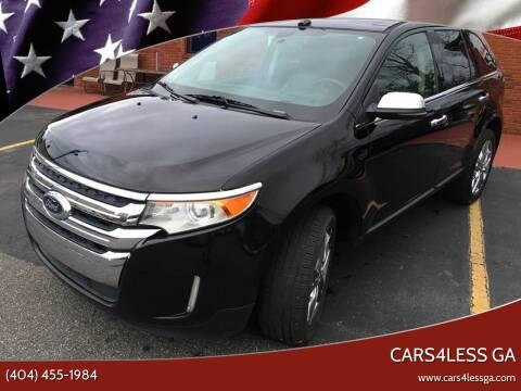 2012 Ford Edge for sale at Cars4Less GA in Alpharetta GA