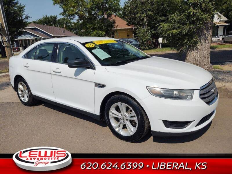 2015 Ford Taurus for sale at Lewis Chevrolet Buick of Liberal in Liberal KS