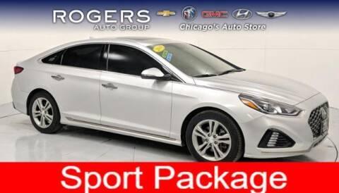 2018 Hyundai Sonata for sale at ROGERS  AUTO  GROUP in Chicago IL