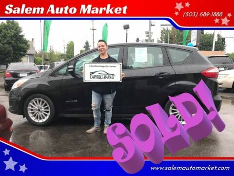 2013 Ford C-MAX Hybrid for sale at Salem Auto Market in Salem OR