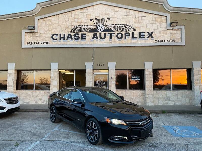 2018 Chevrolet Impala for sale at CHASE AUTOPLEX in Lancaster TX