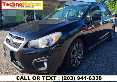 2013 Subaru Impreza for sale at Techno Motors in Danbury CT
