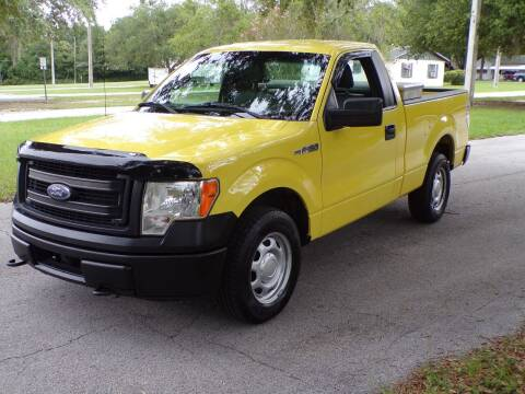 2014 Ford F-150 for sale at LANCASTER'S AUTO SALES INC in Fruitland Park FL