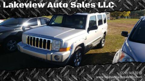 2006 Jeep Commander for sale at Lakeview Auto Sales LLC in Sycamore GA
