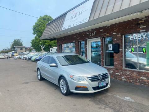 2011 Volkswagen CC for sale at M&M Auto Sales in Portland OR