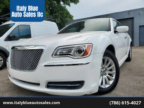 2014 Chrysler 300 for sale at Italy Blue Auto Sales llc in Miami FL