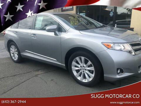 2015 Toyota Venza for sale at Sugg Motorcar Co in Boyertown PA