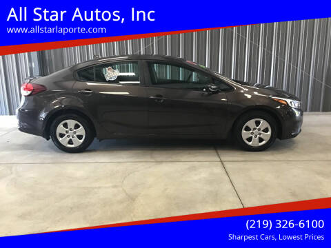 2017 Kia Forte for sale at All Star Autos, Inc in La Porte IN
