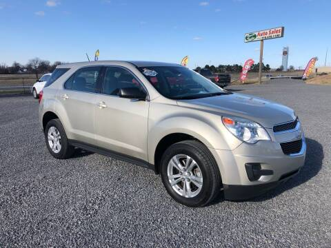 2015 Chevrolet Equinox for sale at RAYMOND TAYLOR AUTO SALES in Fort Gibson OK