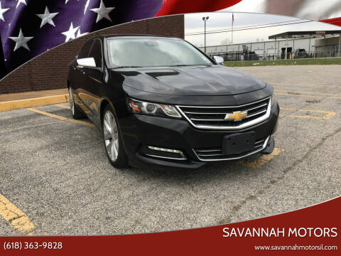 2015 Chevrolet Impala for sale at Savannah Motors in Cahokia IL