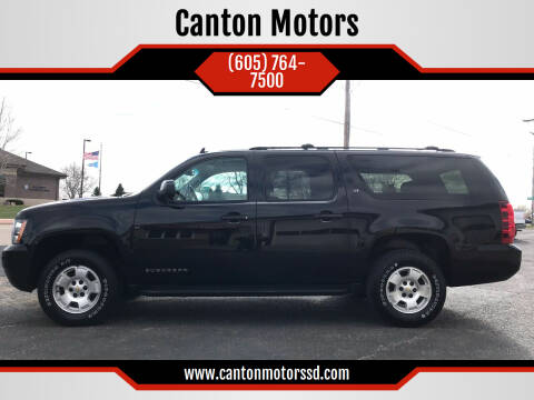 2014 Chevrolet Suburban for sale at Canton Motors in Canton SD