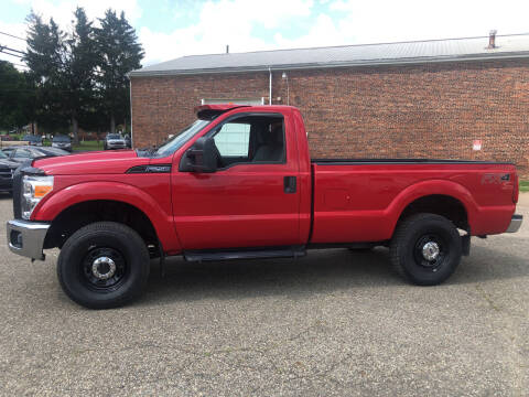 2012 Ford F-250 Super Duty for sale at Jim's Hometown Auto Sales LLC in Byesville OH