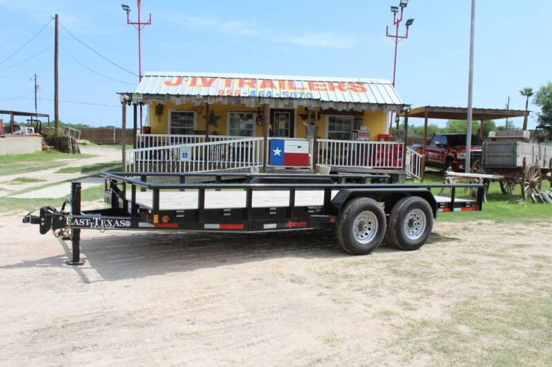 East Texas Utility Pipe Top Bumper Pull for sale at J IV Trailers in Donna TX