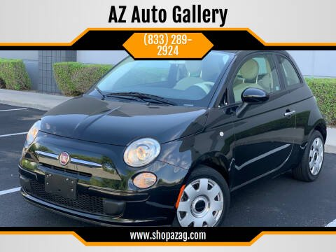 2012 FIAT 500 for sale at AZ Auto Gallery in Mesa AZ