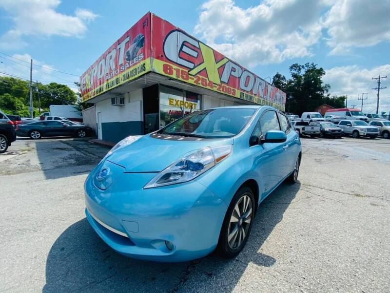 2015 Nissan LEAF for sale at EXPORT AUTO SALES, INC. in Nashville TN