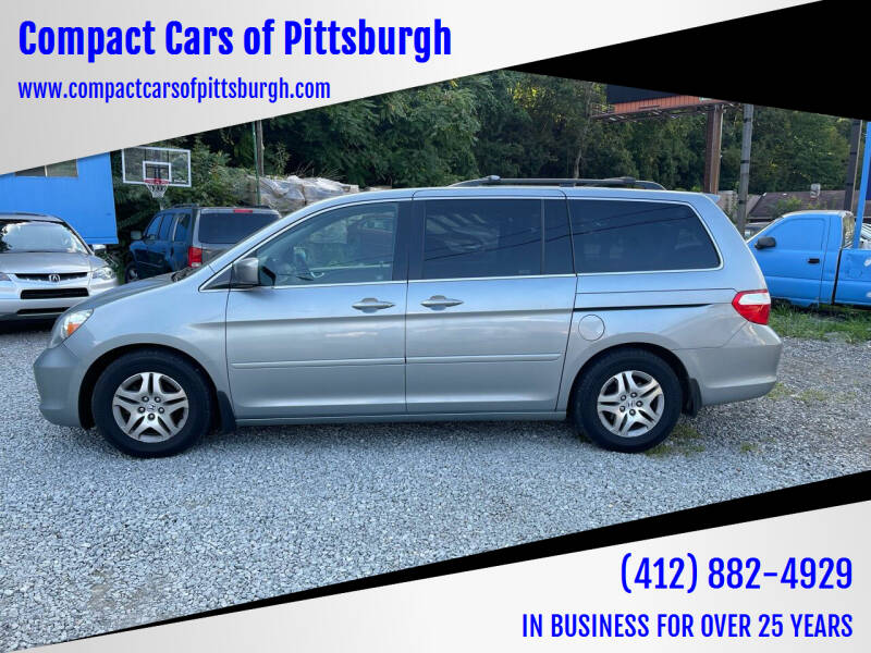 2007 Honda Odyssey for sale at Compact Cars of Pittsburgh in Pittsburgh PA