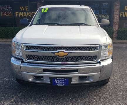 2012 Chevrolet Silverado 1500 for sale at East Carolina Auto Exchange in Greenville NC