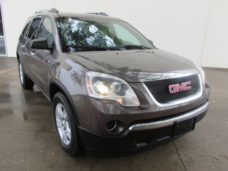 2010 GMC Acadia for sale at QUALITY MOTORCARS in Richmond TX