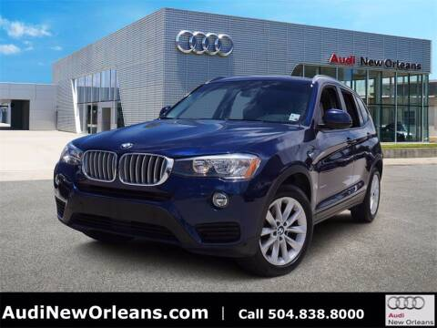 2017 BMW X3 for sale at Metairie Preowned Superstore in Metairie LA