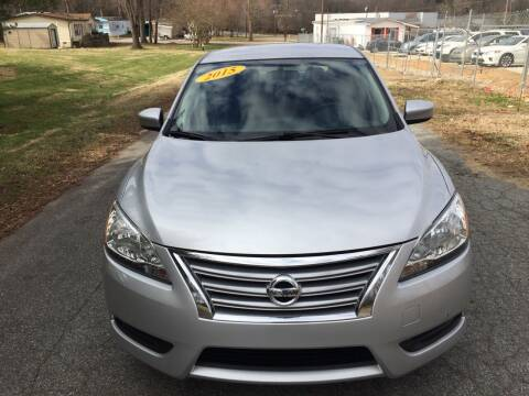 2015 Nissan Sentra for sale at Speed Auto Mall in Greensboro NC