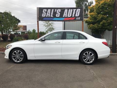2015 Mercedes-Benz C-Class for sale at Sal's Auto in Woodburn OR