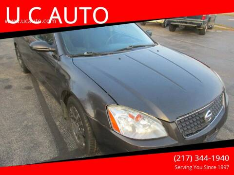 2005 Nissan Altima for sale at U C AUTO in Urbana IL