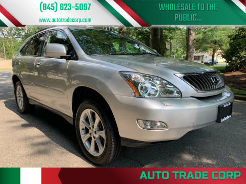 2008 Lexus RX 350 for sale at AUTO TRADE CORP in Nanuet NY