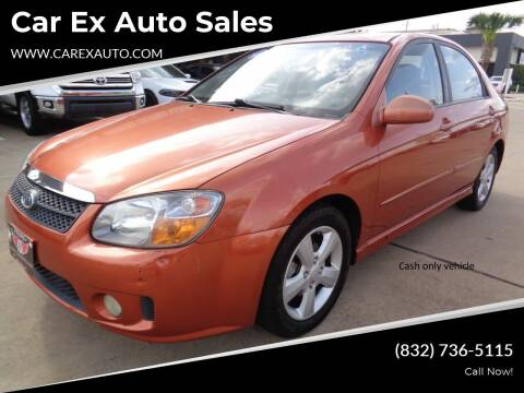 2007 Kia Spectra for sale at Car Ex Auto Sales in Houston TX