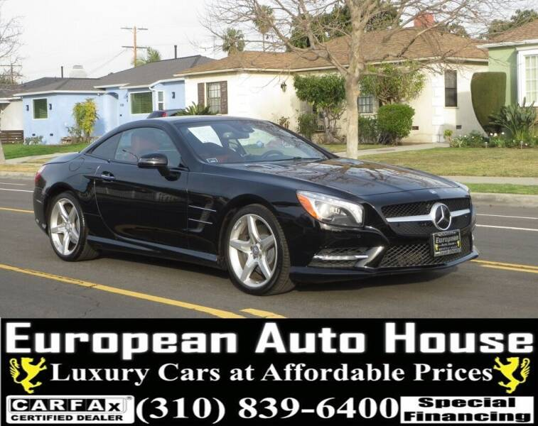 2014 Mercedes-Benz SL-Class for sale at European Auto House in Los Angeles CA