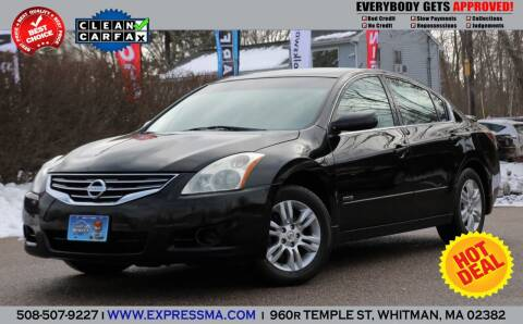 2011 Nissan Altima Hybrid for sale at Auto Sales Express in Whitman MA