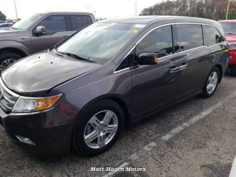 2012 Honda Odyssey for sale at Matt Hagen Motors in Newport NC