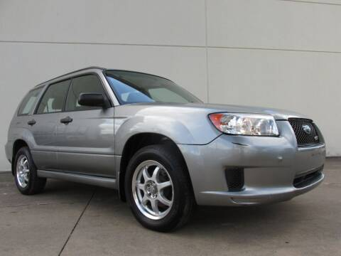 2007 Subaru Forester for sale at QUALITY MOTORCARS in Richmond TX