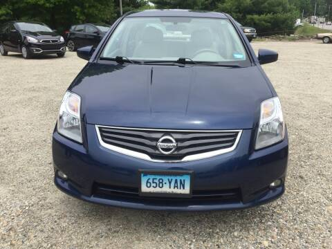 2010 Nissan Sentra for sale at Sorel's Garage Inc. in Brooklyn CT