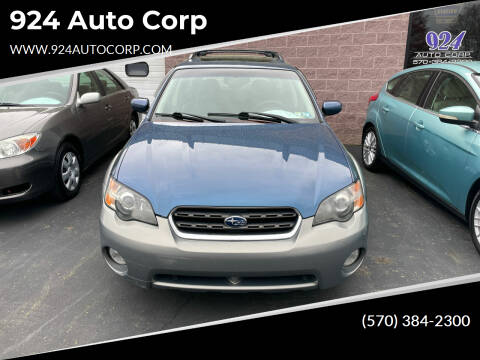 2005 Subaru Outback for sale at 924 Auto Corp in Sheppton PA