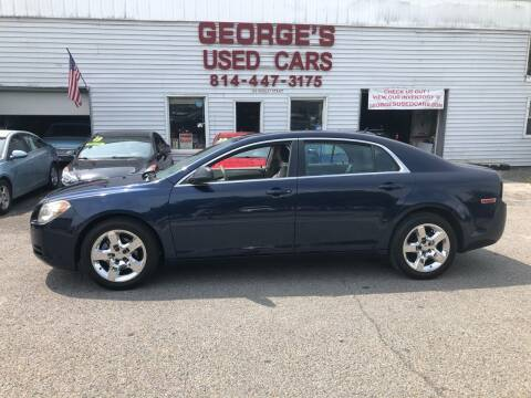 2011 Chevrolet Malibu for sale at George's Used Cars Inc in Orbisonia PA