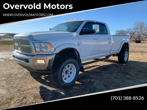 2012 RAM Ram Pickup 3500 for sale at Overvold Motors in Detriot Lakes MN