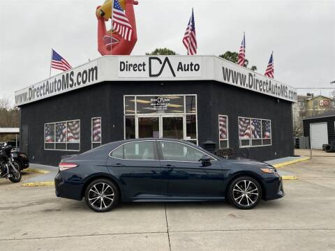 2018 Toyota Camry for sale at Direct Auto in D'Iberville MS