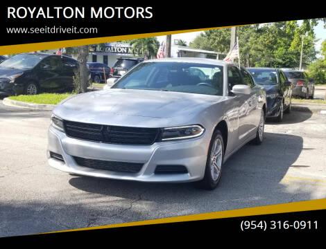 2020 Dodge Charger for sale at ROYALTON MOTORS in Plantation FL