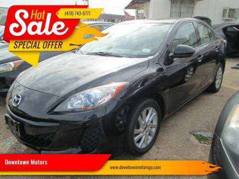 2013 Mazda MAZDA3 for sale at Downtown Motors in Macon GA