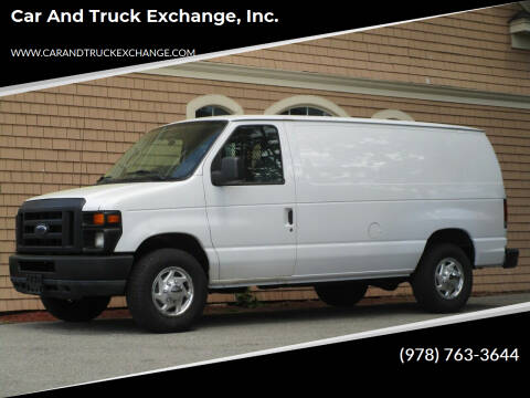 2011 Ford E-Series Cargo for sale at Car and Truck Exchange, Inc. in Rowley MA